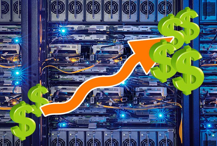 computer hardware increasing costs